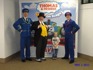 Brandon's Meet and Greet at Thomas the Train!